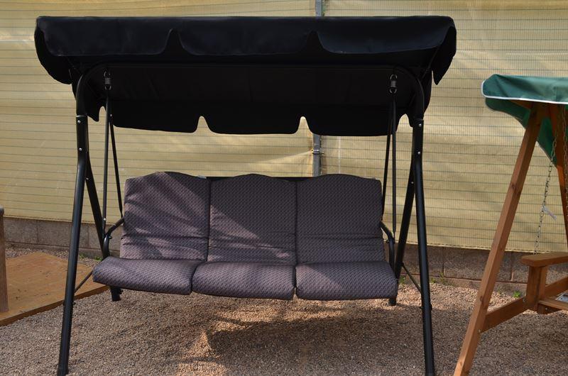 Sun Time 3 Seat Swing Seat Greenacres Garden Centre