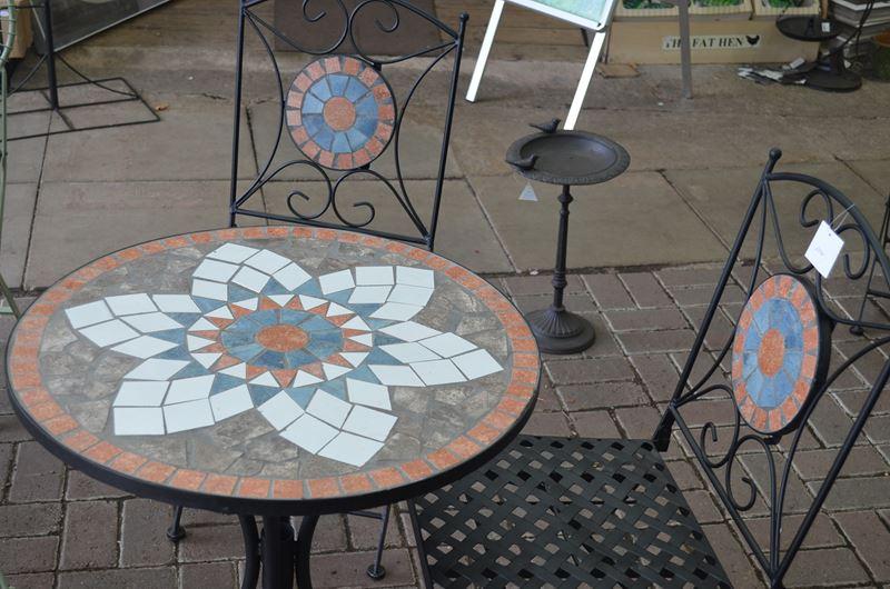Sun Time Mosaic Bistro Set Greenacres Garden Centre