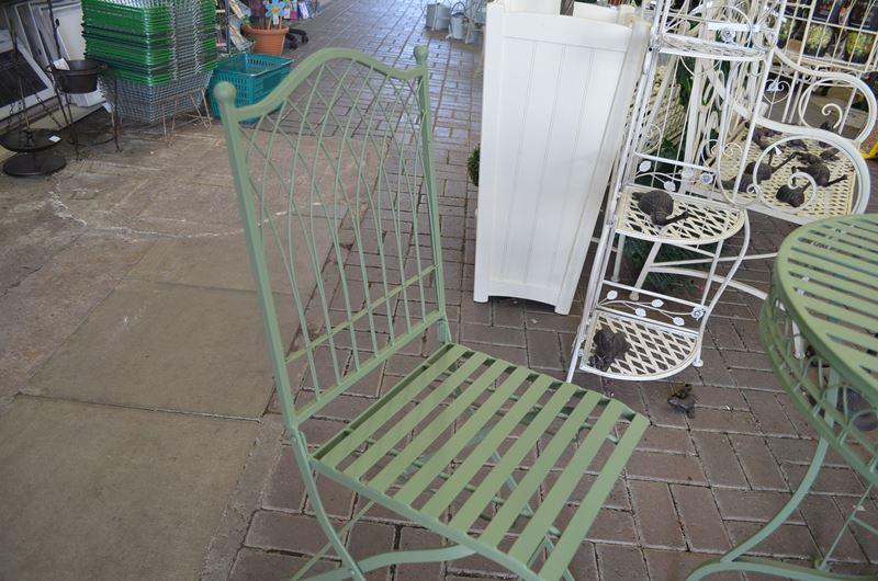 Ascalon Hampton Green Bistro Set Greenacres Garden Centre