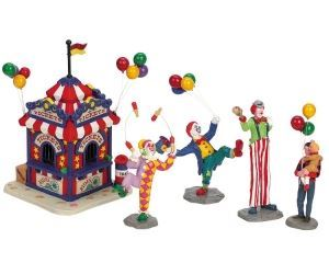 Picture of Lemax Carnival Ticket Booth With Figurines