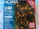 Picture of Noma 240 Multi Effect Warm White LED Lights