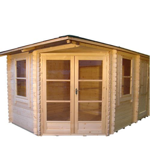 Woodlands log cabins the victoria greenacres garden centre for Log cabins victoria