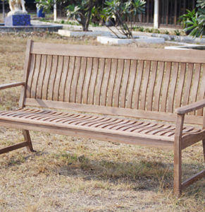 Picture of HANOI 3 SEAT CURVED BACK BENCH
