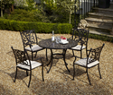 Picture of Devon 4 Seat Round Dining Set