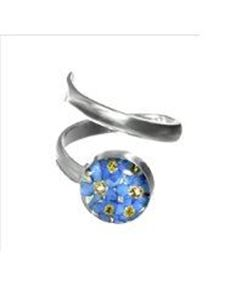 Picture of Shrieking Violet Forget Me Not Round ring