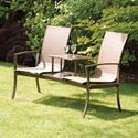 Picture of Havana Bronze Duo Seat with Black Glass