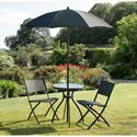 Picture of Havana Black 60cm Bistro Set Steel