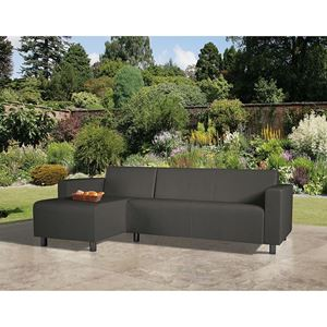 Picture of CoSi Tom Weatherproof Corner Sofa, Graphite