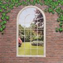 Picture of Georgian Arched Window Garden Mirror