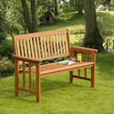 Picture of Camillion 2-Seat Wooden Bench