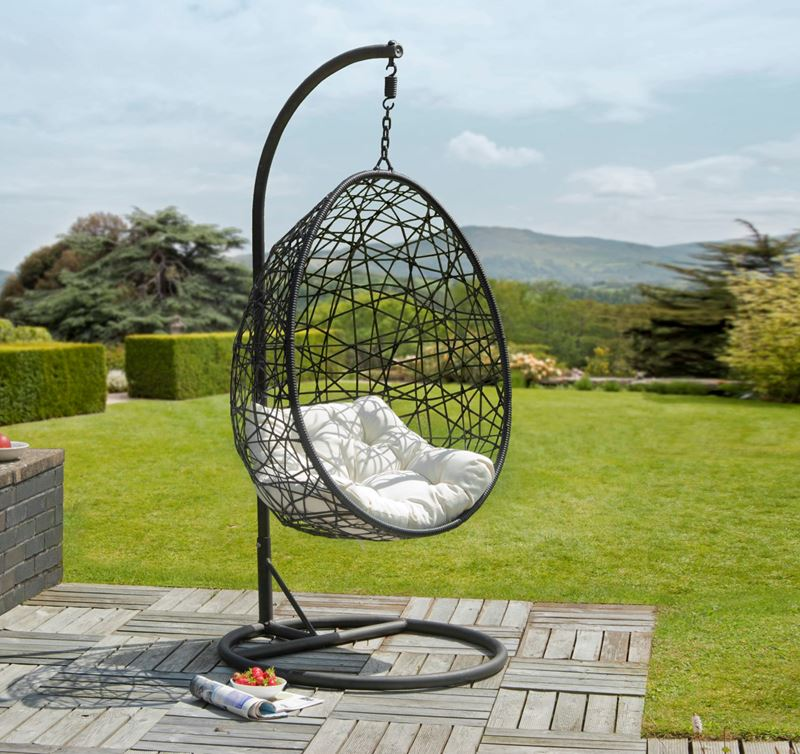 retreat rattan egg chair garden furniture greenacres garden centre. Black Bedroom Furniture Sets. Home Design Ideas